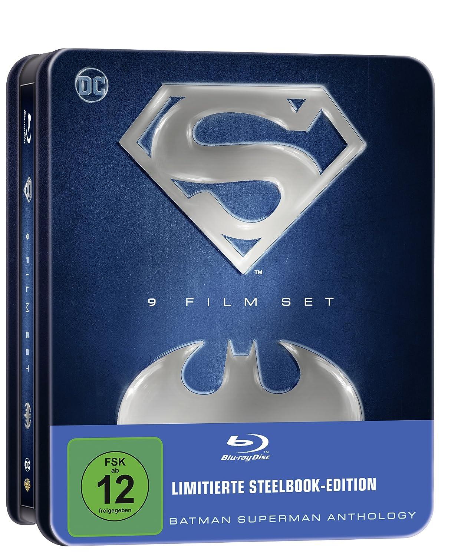 Batman Superman Anthology (exklusiv bei Amazon.de) [Blu-ray] [Limited Edition]