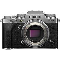 Fujifilm X-T4 Mirrorless Digital Fujifilm X-T4 Mirrorless Digital Camera Body, Silver (16650601)