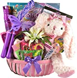A Pretty Little Princess, Princess Themed Gift Basket for Girls with Sweets and Treats and Princess Themed Gifts and Activities for Your Little Princess