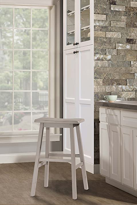 Moreno Non Swivel Backless Bar Stool