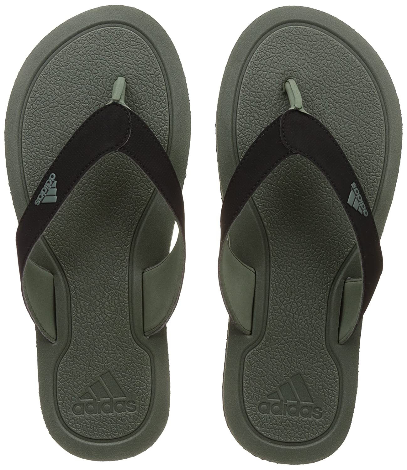 d9723638f180 Adidas Men s Stabile Tragrn and Cblack Flip-Flops and House Slippers - 10  UK India (44.67 EU)  Buy Online at Low Prices in India - Amazon.in