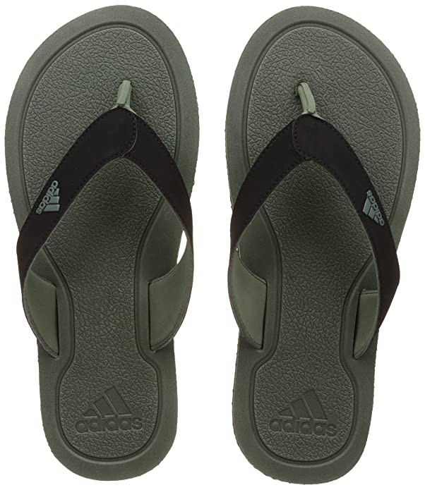 28d60b45e34d2 Adidas Men s Stabile Tragrn and Cblack Flip-Flops and House Slippers - 10  UK India (44.67 EU)  Buy Online at Low Prices in India - Amazon.in