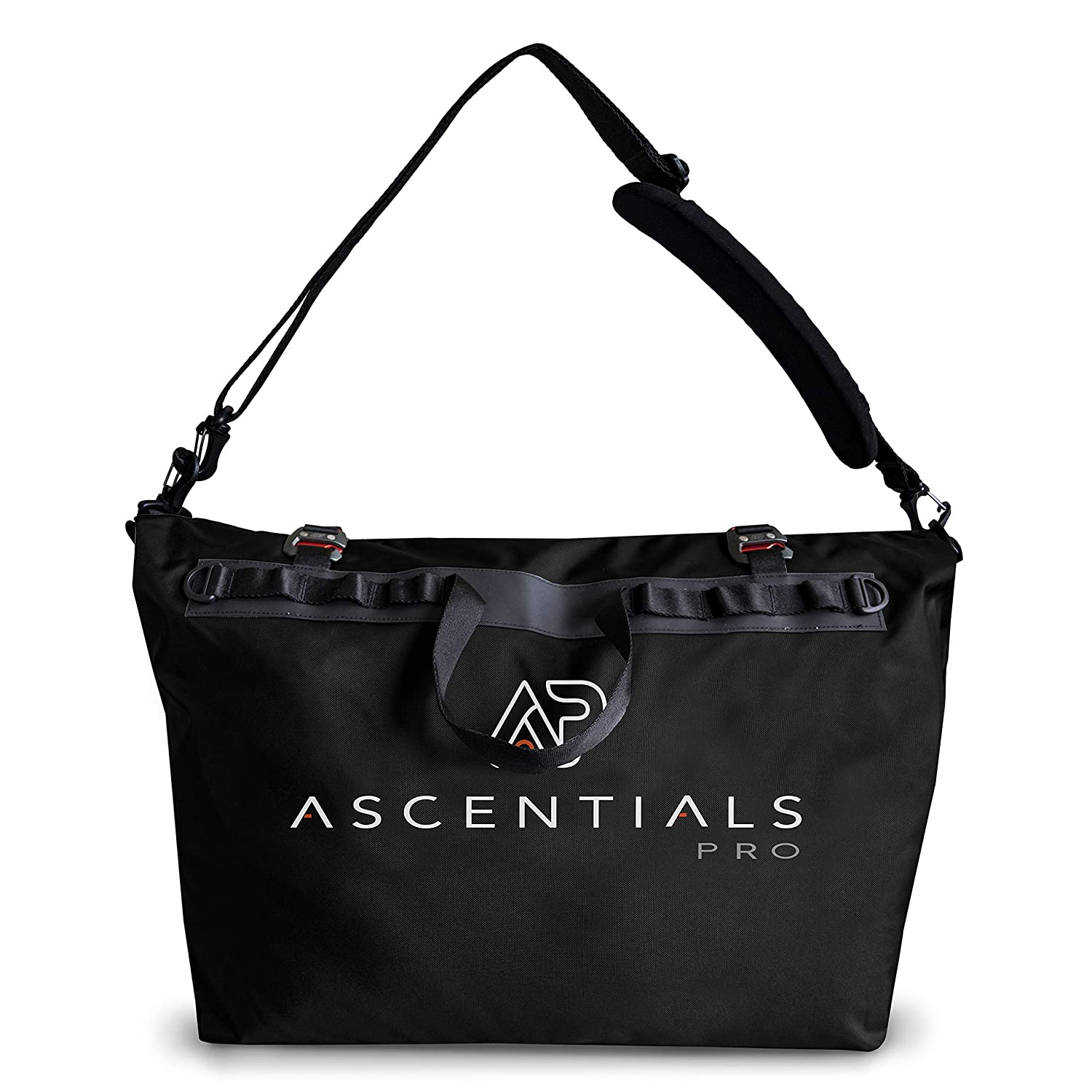 Ascentials Pro Hemisphere, Water Resistant, Durable Polyester, Oversized Travel Duffle, Gear Bag for Men