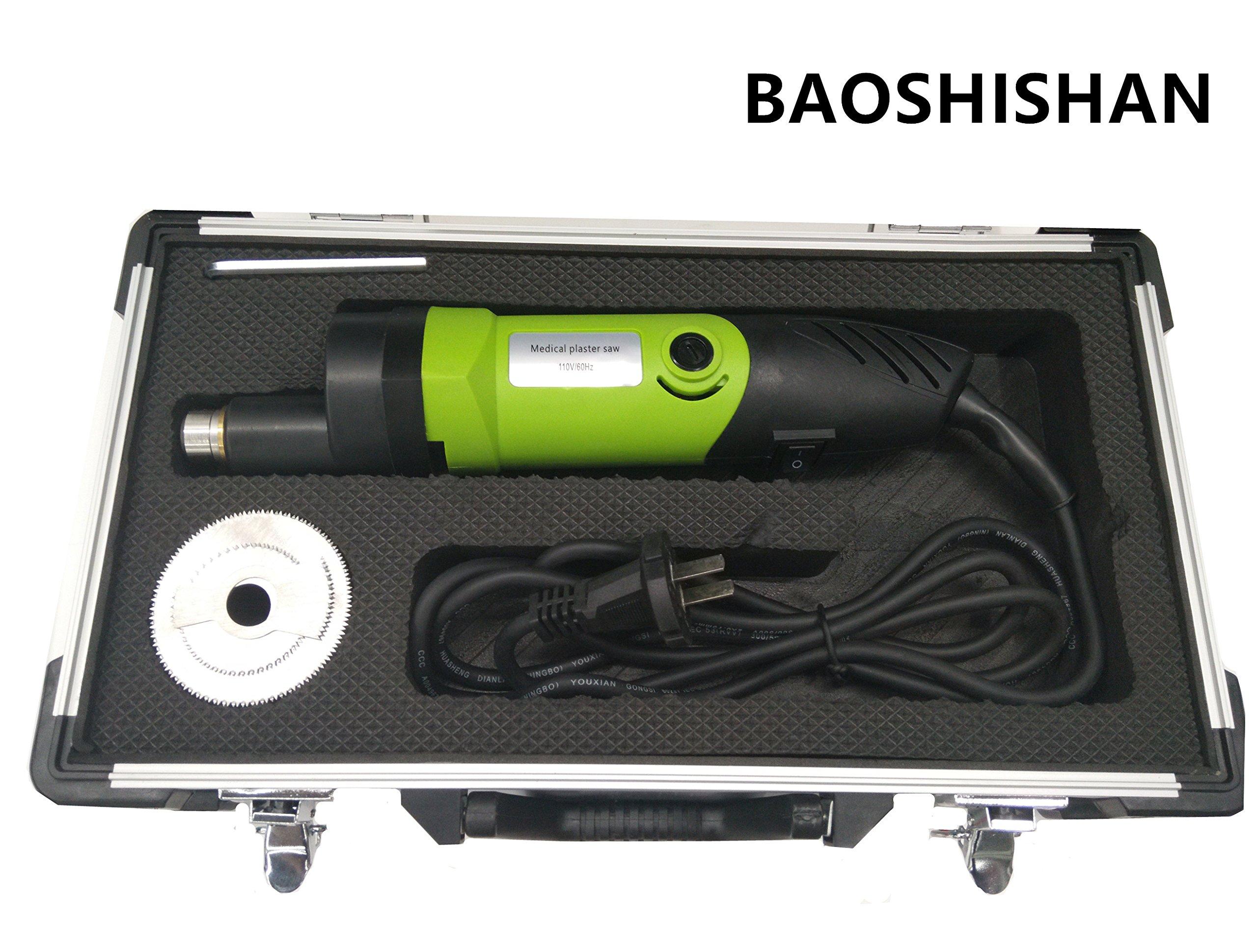 Electric Plaster Saw Speed Adjustable Plaster Cast Cutter for Tearing Polymeric Materials Plaster 110V/220V (110V)