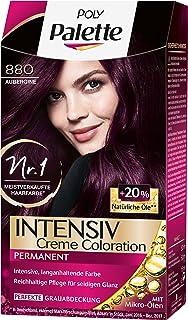 Haarfarbe aubergine test