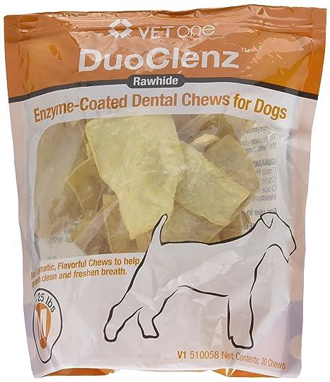 Amazon.com: vetone duoclenz enzymecoated Dental Chews Medium ...