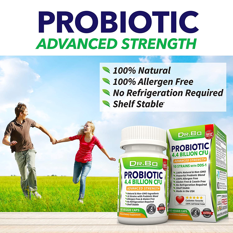 Amazon.com: Dr. Bo de suplemento de Probióticos Para Mujeres ...