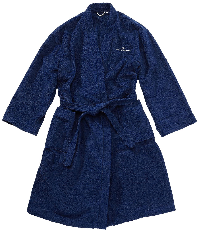 Gr navy S TOM TAILOR 100300//908//701 Kimono Bademantel