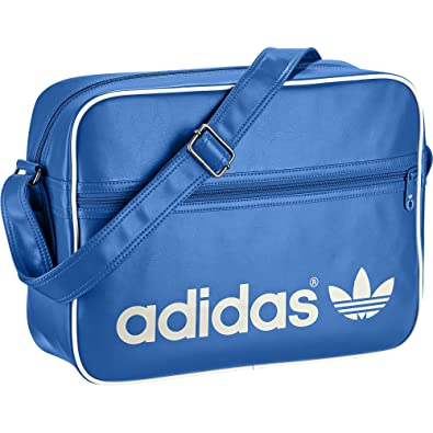 78644d59fab6 Adidas Originals Adicolor Airline Bag Bluebird - White  Amazon.co.uk ...