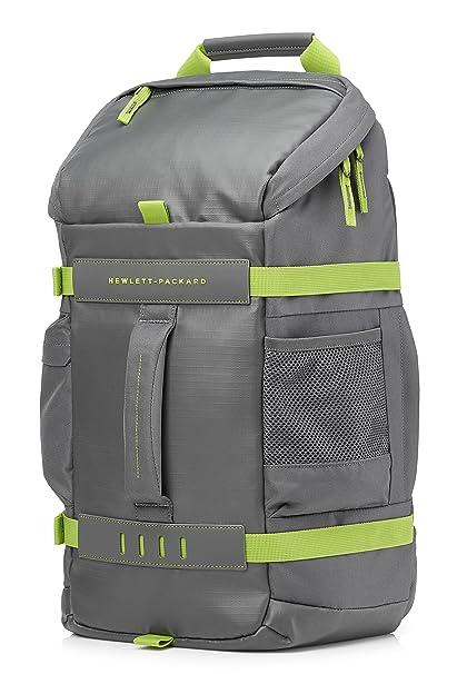 """HP Odyssey - Mochila para portátiles de hasta 15.6"""" de Color Verde (335 x"""