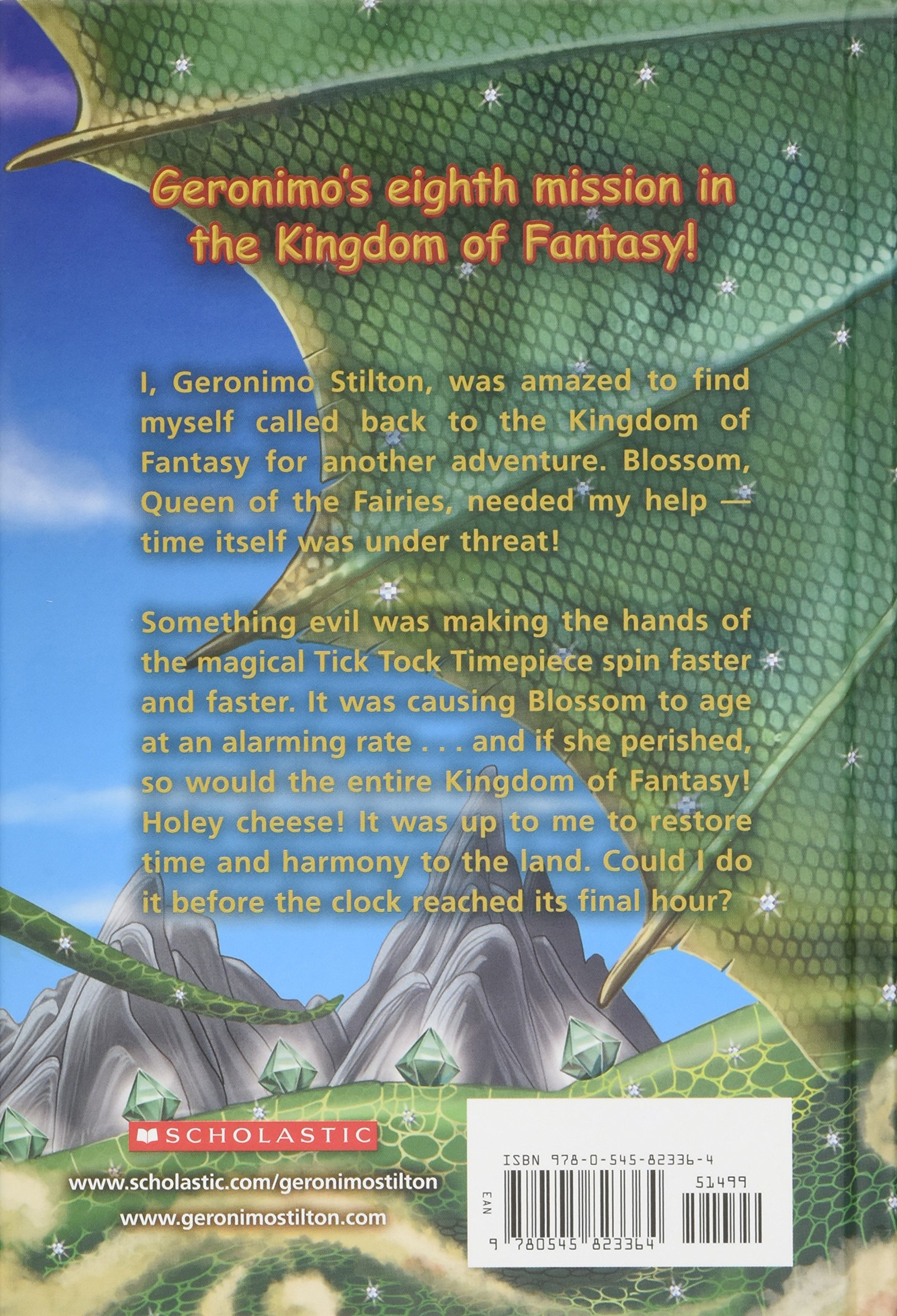 the hour of magic geronimo stilton and the kingdom of fantasy 8