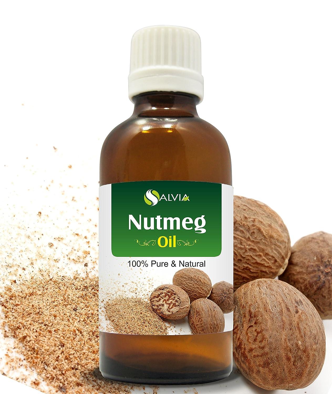 NUTMEG OIL 100% NATURAL PURE UNDILUTED UNCUT ESSENTIAL OILS 15ML Salvia