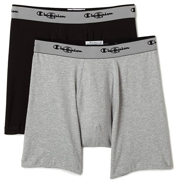Champion Hombre 2-Pack Doble seco ActiveFit Boxer Brief