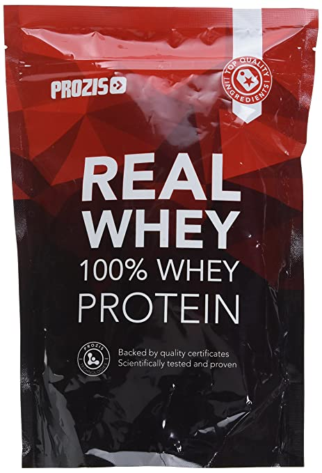 Prozis 100% Real Whey Protein, Vainilla - 400 gr