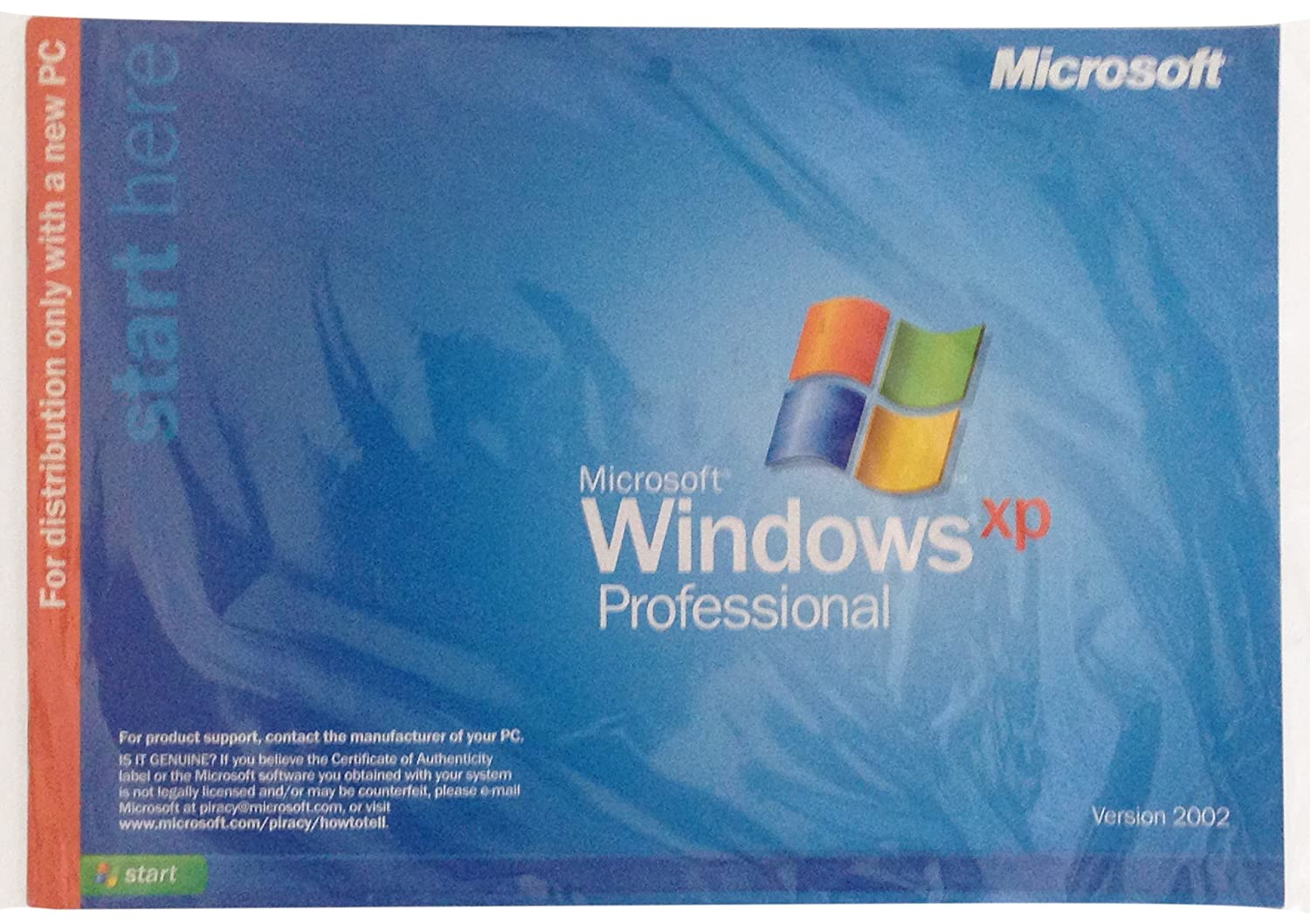 Genuine Microsoft Windows Xp Professional 1-2cpu Oem Software Operating Systems