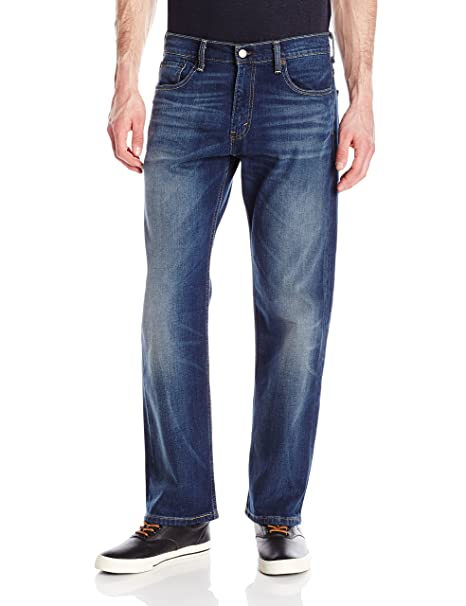 Levis Mens 569 Loose Straight Fit-Jeans