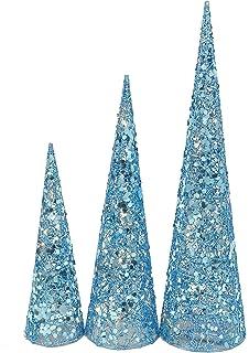 Paquete De 3 Varios tamaño - White & Silver Glitter & Pearl Bead ...