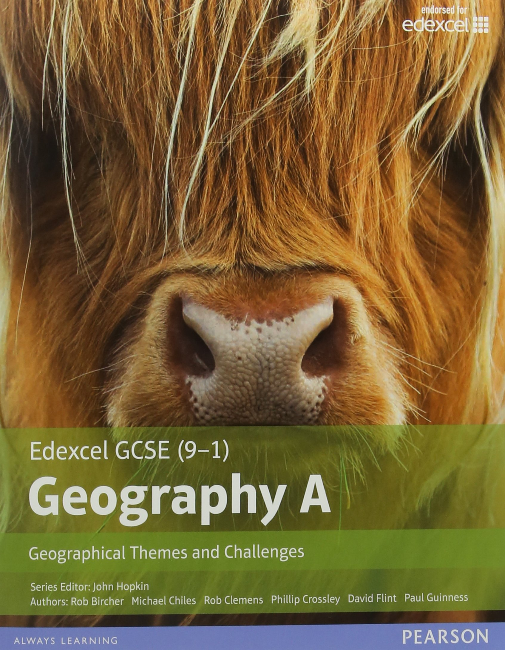 GCSE (9-1) Geography specification A: Geographical Themes and Challenges (Edexcel Geography GCSE Specification A 2016) by Edexcel Limited