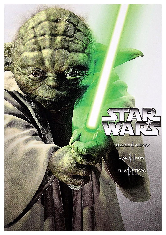 Star Wars: Episode I - The Phantom Menace / Star Wars: Episode II - Attack of the Clones / Star Wars: Episode III - Revenge of the Sith 3DVD No hay versión