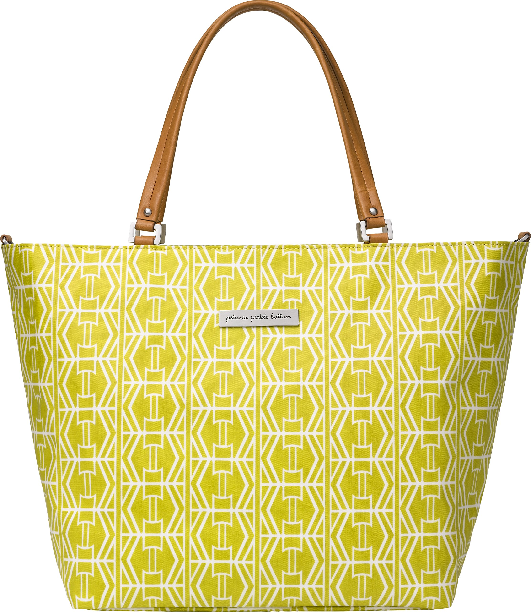 Petunia Pickle Bottom Altogether Tote Diaper Bag in Electric Citrus, Yellow by Petunia Pickle Bottom