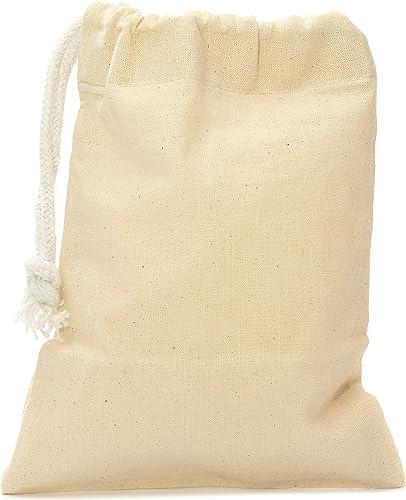 Aura - Lote de 5 bolsas de algodón natural de comercio justo ...