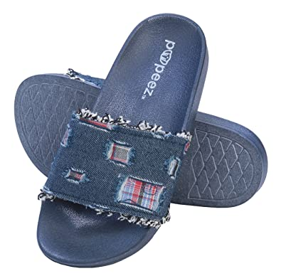 badd31c391b0 Image Unavailable. Image not available for. Color  Pupeez Girl s Slide  Sandals Kids Open Toe ...