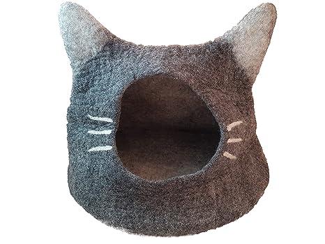 Snappies Petcare gato cueva lana gato cama – Whiskers