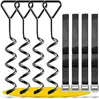 SCHMITZ.Tools Grondankerset Premium ankerset voor trampoline, grondanker, trampoline, broeikas, schommel, tuinhuis…