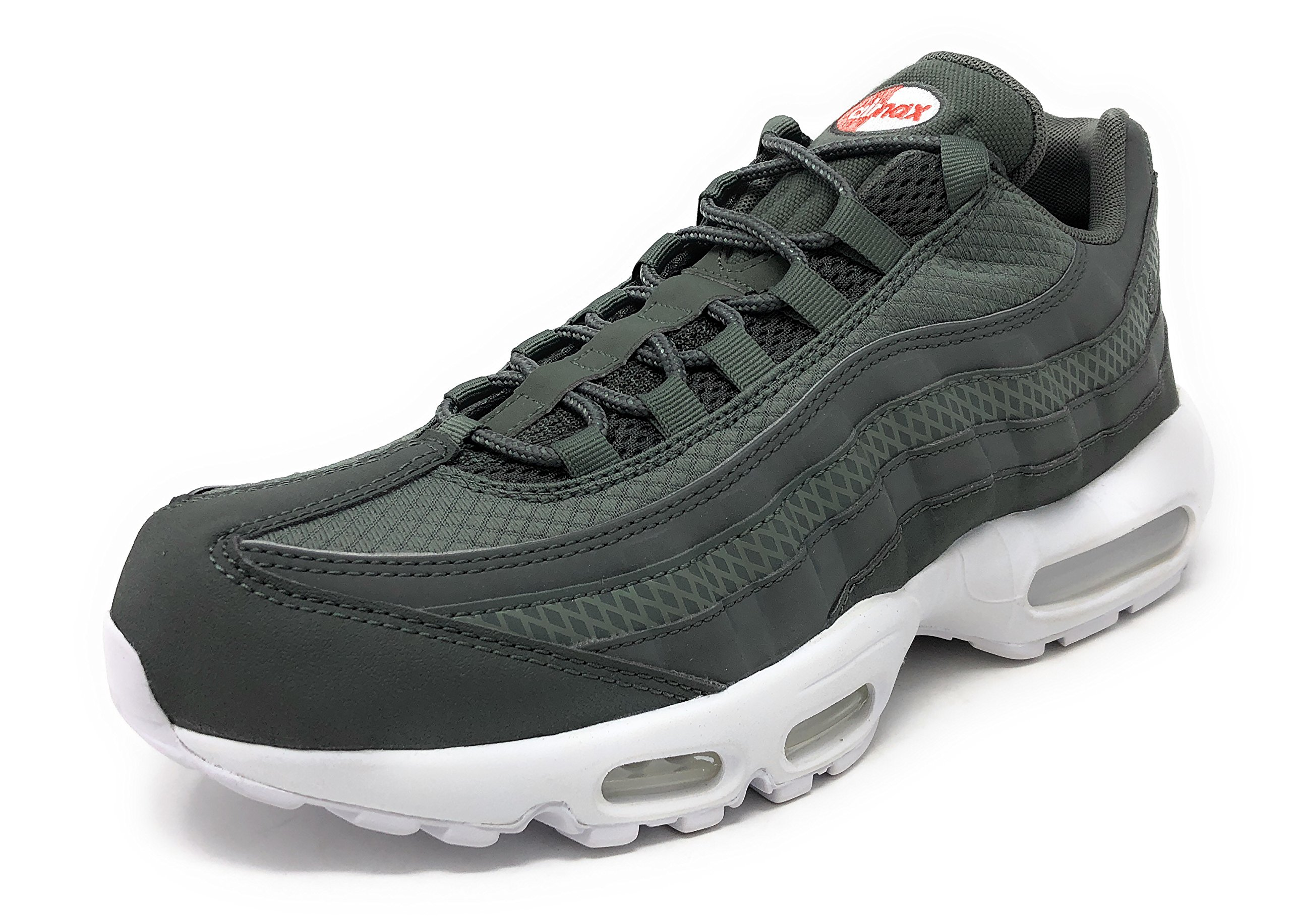 low priced c8824 c8515 Galleon - Nike Air Max 95 Premium SE River Rock River Rock-White, Size 10.5  US