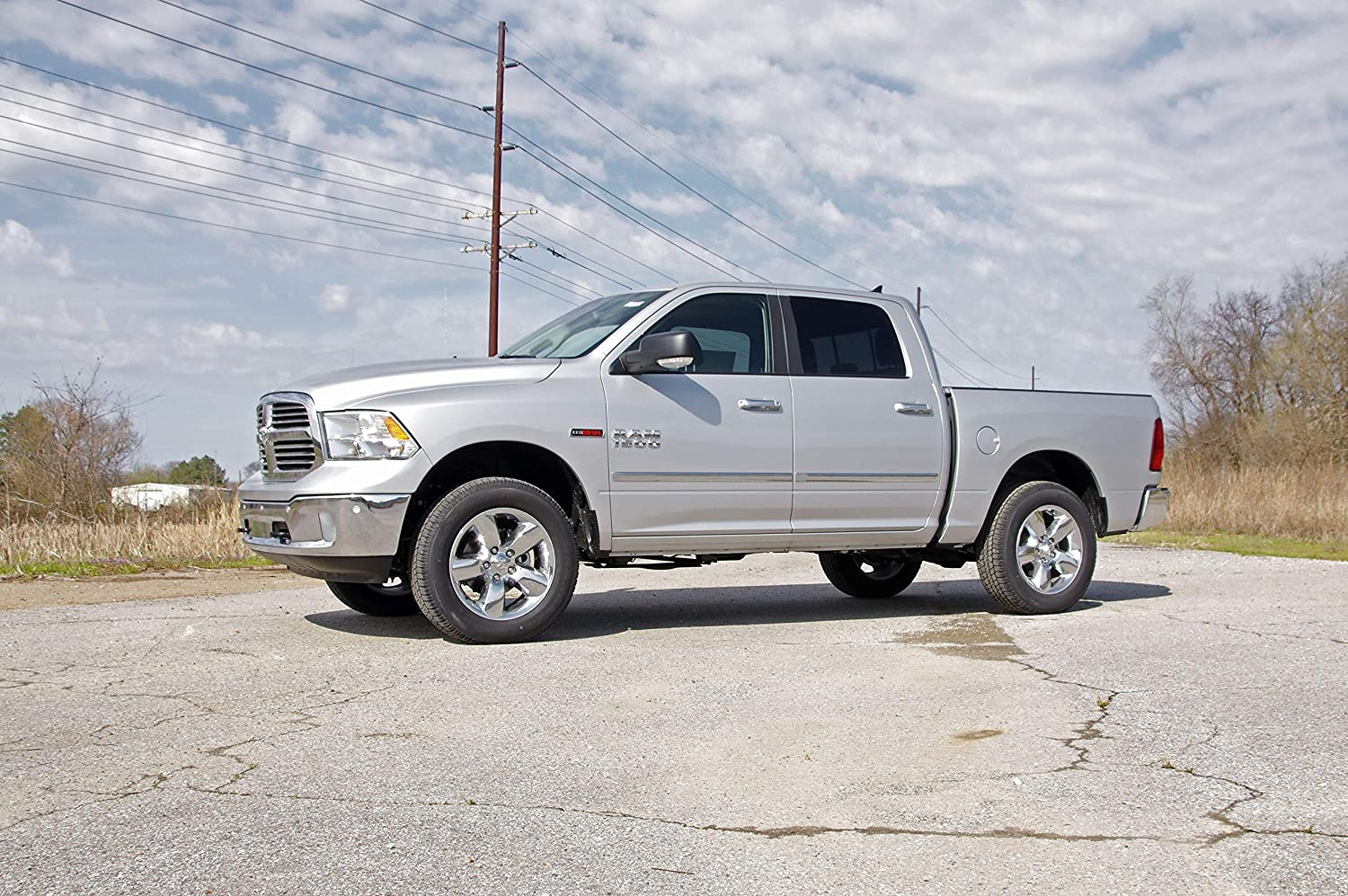Rough Country 7578 Leveling Kit 2 fits 1994-2008 RAM Truck 1500 2WD Suspension System Increased Ground Clearance