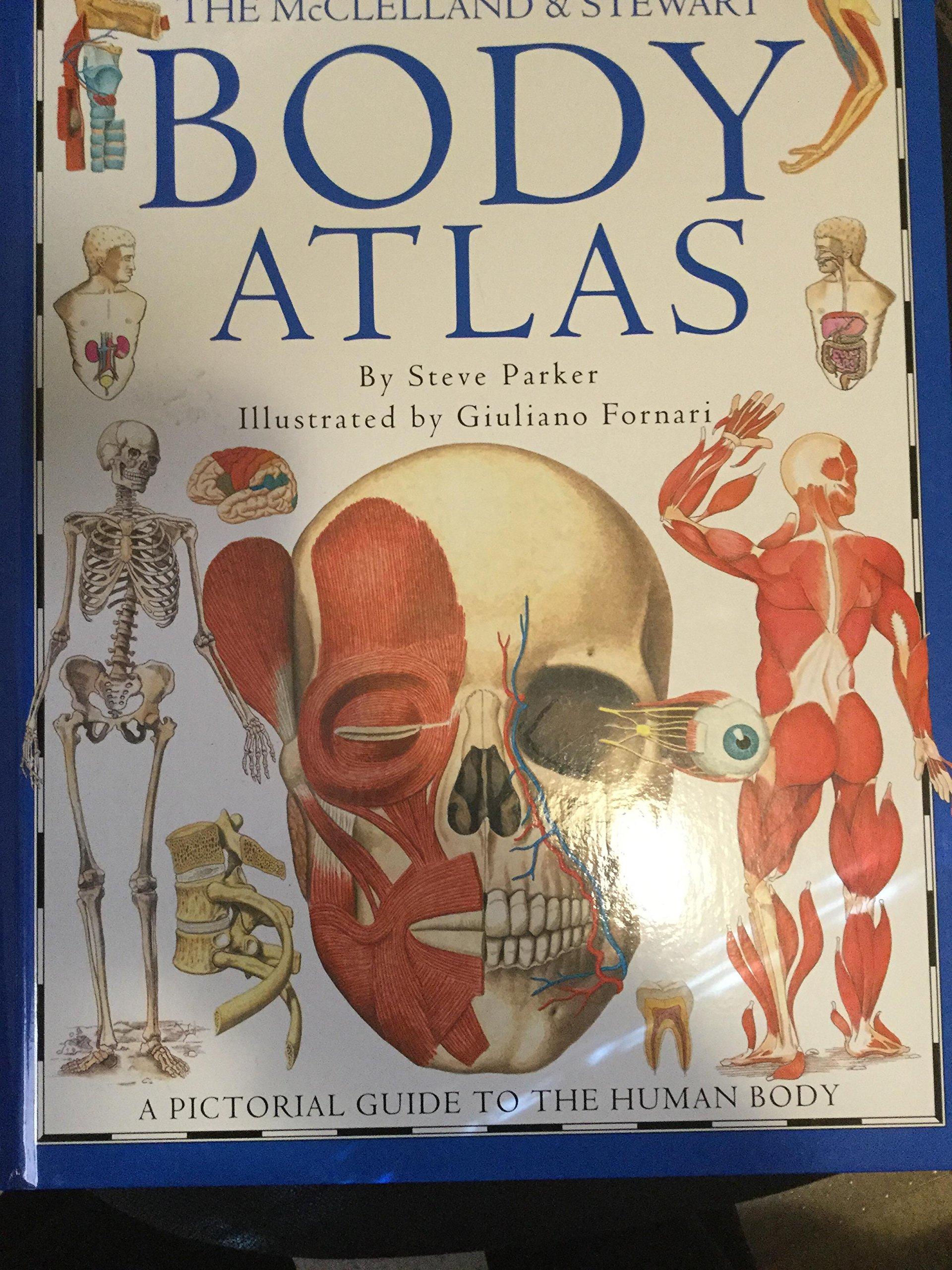 Mcclelland And Stewart Body Atlas Inc Dorling Kindersley