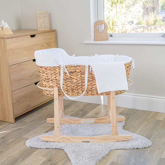 comes in natural//grey or cocoa Clair De Line Deluxe Rocking Stand