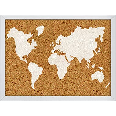Wall Pops The World Printed Cork Board