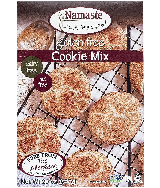 Namaste Foods Gluten Free Cookie Mix, 20 oz. (Pack of 6) – Allergen Free