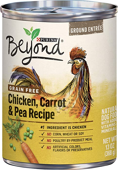 Purina Beyond Grain Free, Natural, Adult Ground Entrée Wet Dog Food