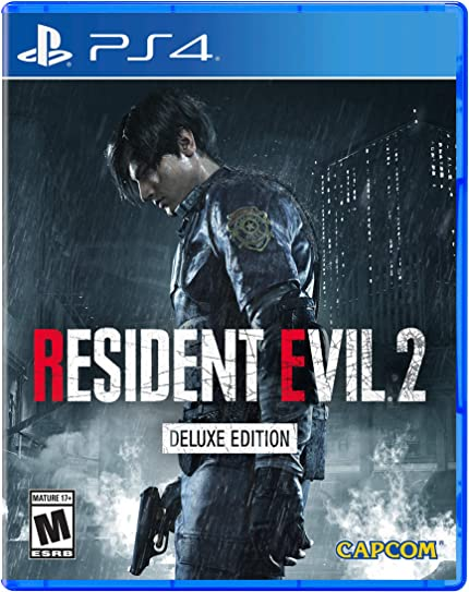 97cfd108ab0 Resident Evil 2 - PlayStation 4 Deluxe Edition  Video Games