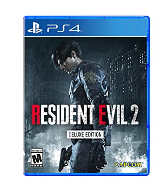 Amazon Com Resident Evil 2 Playstation 4 Deluxe Edition Video