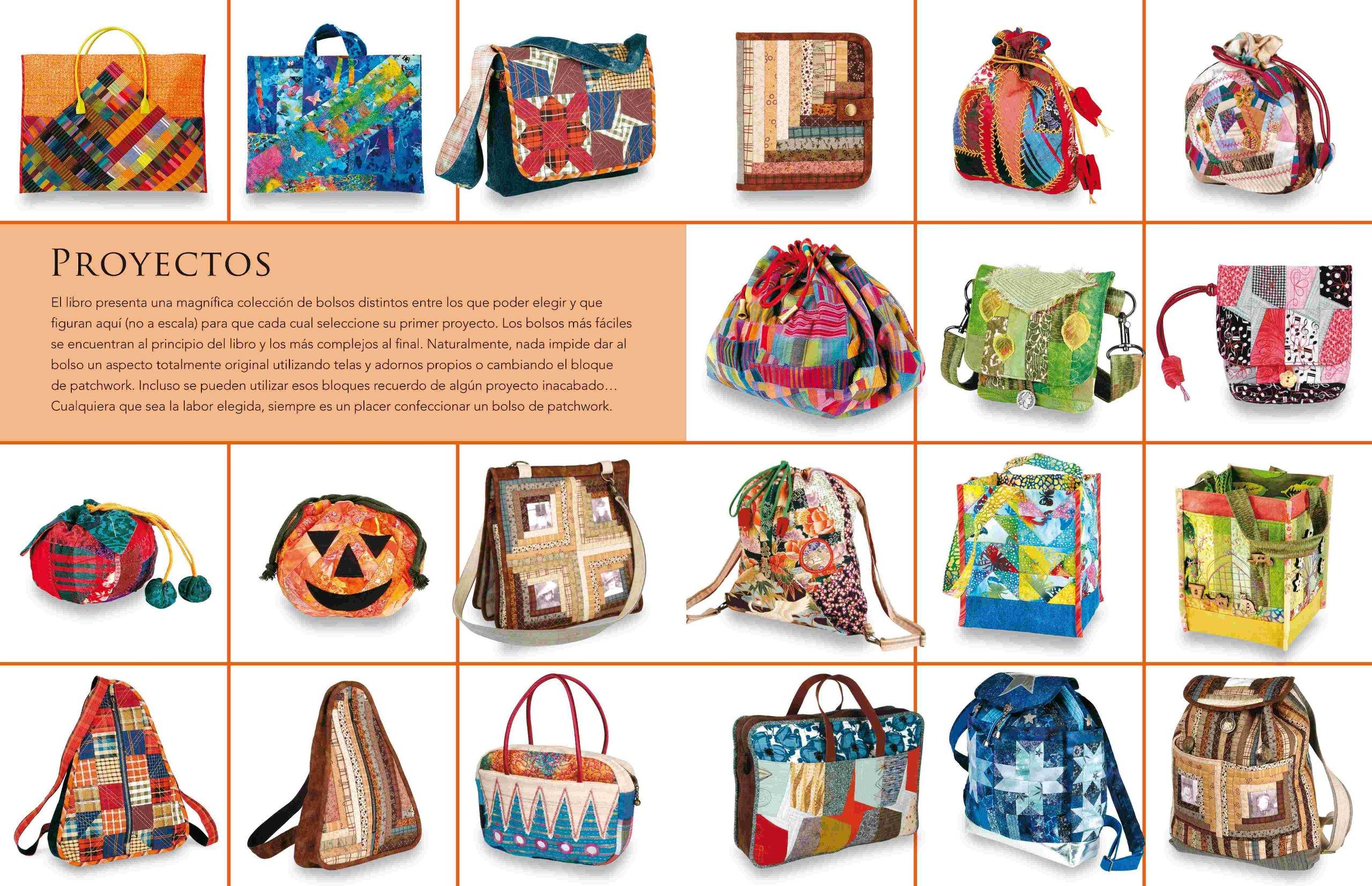 21 sensacionales bolsos de patchwork/ 21 Sensational Patchwork Bags (Spanish Edition): Susan Briscoe: 9788496777538: Amazon.com: Books
