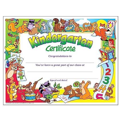 amazon com kindergarten certificates pk k certificates diplomas