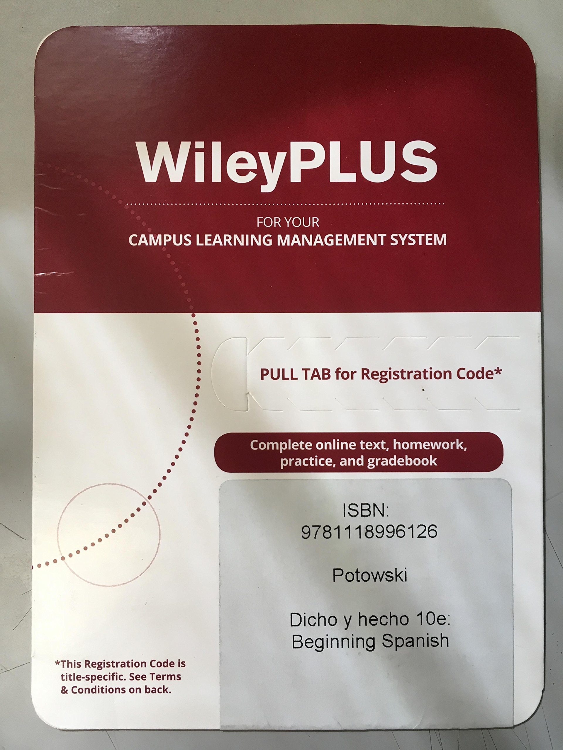 how to enter registration code for wileyplus