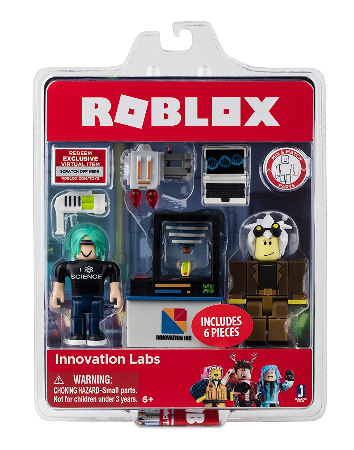 90fd919f8c46 Amazon.com  Roblox Innovation Labs Game Pack  Toys   Games