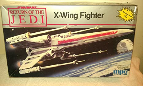 Amazon.com: Star Wars Return of the Jedi Vintage 1989 12 X-wing ...