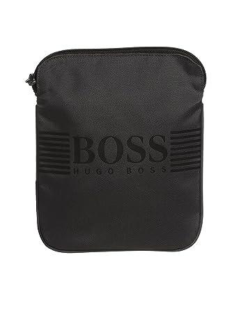 ec13b493f61 Hugo Boss Boys Dark Grey Messenger Bag: Amazon.co.uk: Clothing