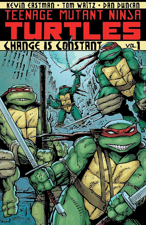 Amazon.com: Teenage Mutant Ninja Turtles Vol. 1: Change is ...
