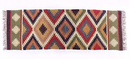 Indio 60x182 cm Pray Kilim hecha a mano alfombra alfombra ...