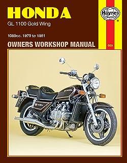 amazon com clymer manual honda gl1000 gl1100 gold wing 1975 rh amazon com 1983 honda goldwing service manual 1983 Honda Goldwing Interstate Parts