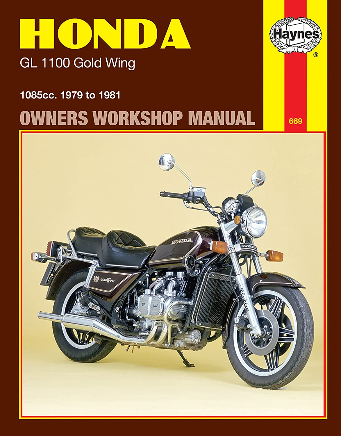 Amazon.com: 1979-1981 Honda Goldwing Gold Wing GL 1100 HAYNES REPAIR MANUAL  669: Automotive