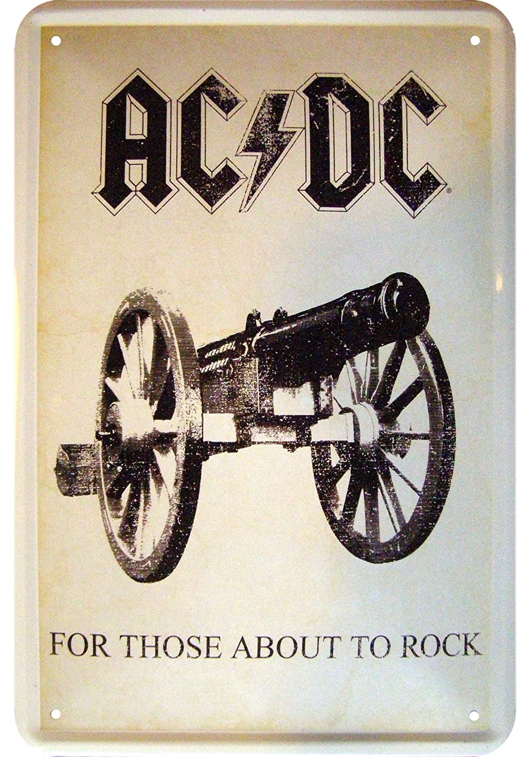 AC/DC - For Those about to rock Decoración Cartel de chapa ...