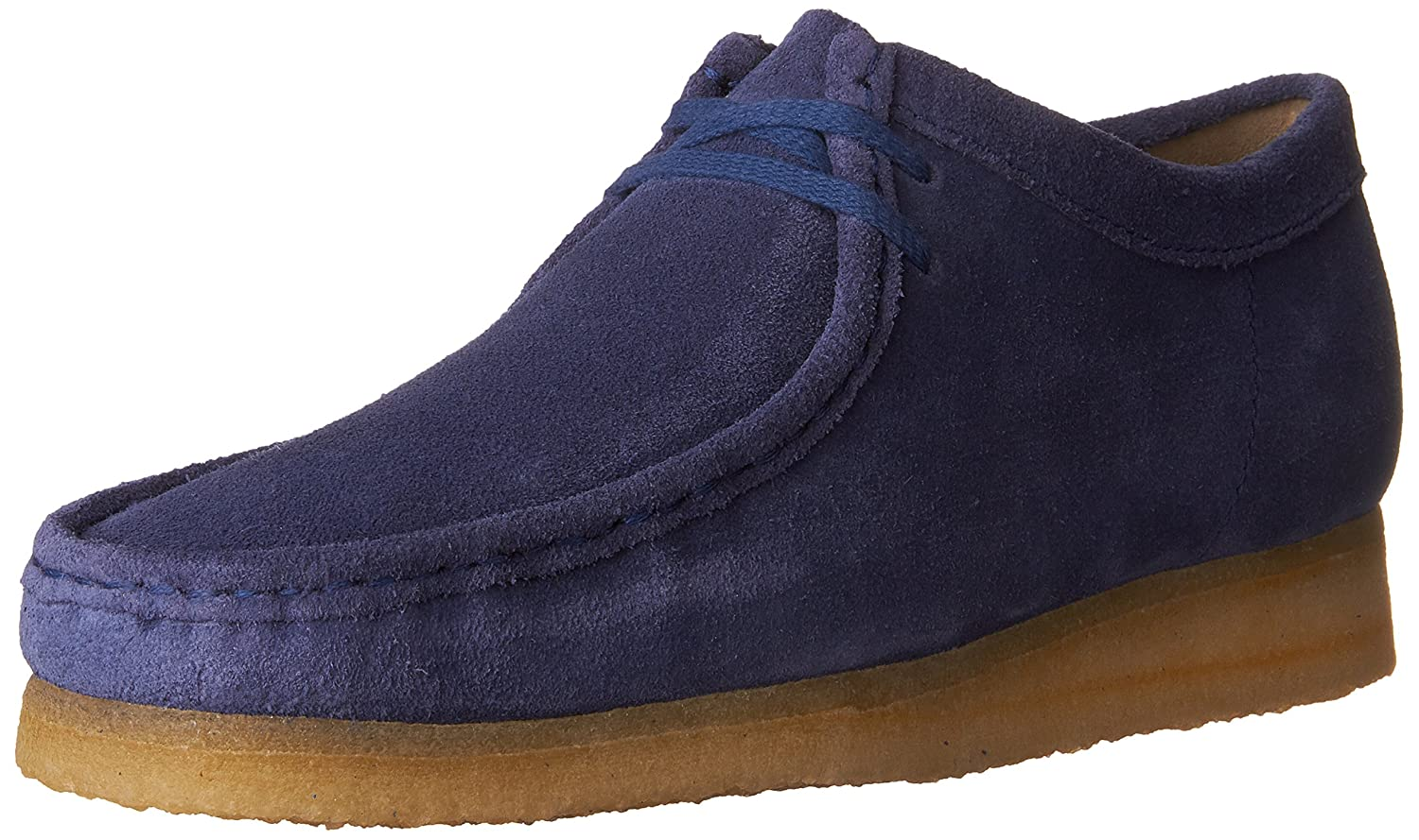 CLARKS Men's Wallabee Shoe B01I4MHBOI 9 D(M) US|Night Blue