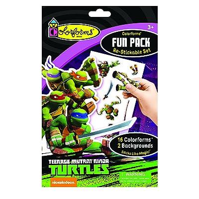 Colorforms Fun Pack Teenage Mutant Ninja Turtles: Toys & Games
